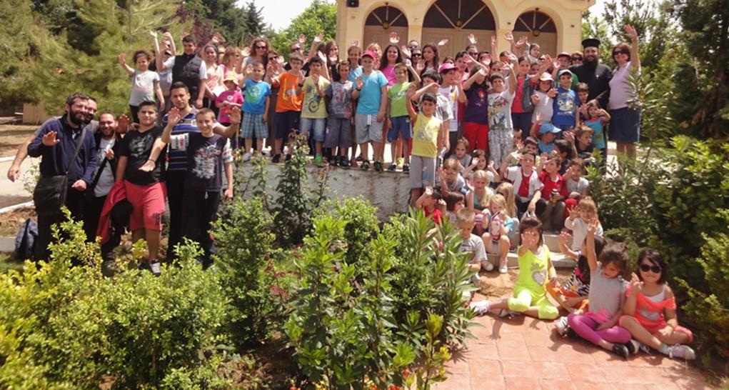 Εκδρομή των κατηχητικών σχολείων μας - Στεφάνη Βοιωτίας 16 Μαΐου 2015